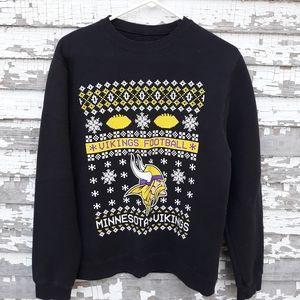 Majestic Minnesota Vikings football sweatshirt